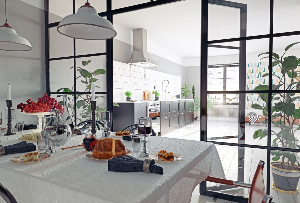 Une cloison vitrée pour séparer des espaces